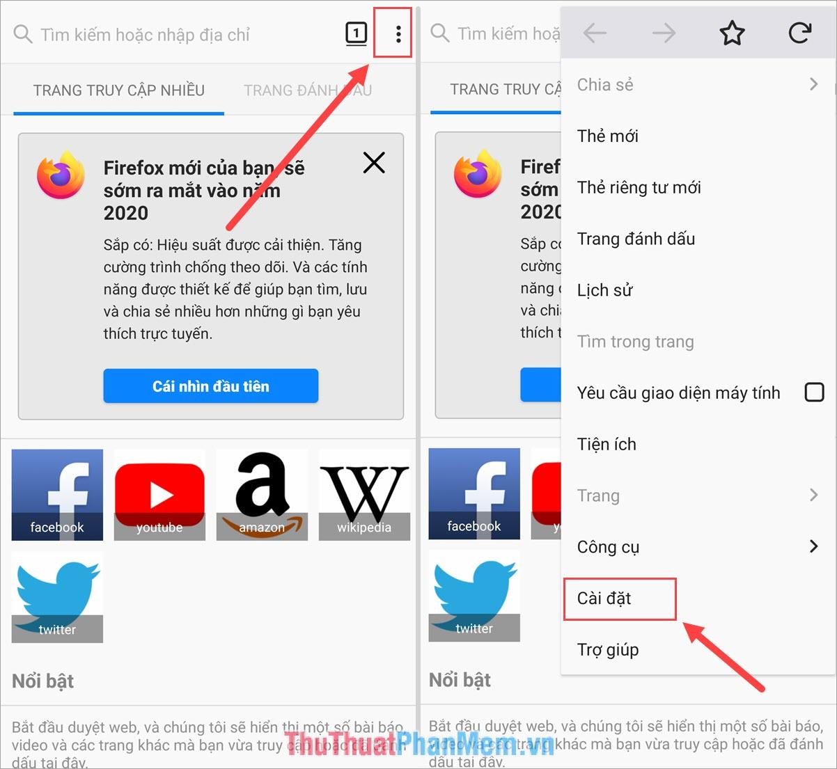 cach dong bo du lieu bookmark mat khau lich su duyet web tab dang mo tren firefox