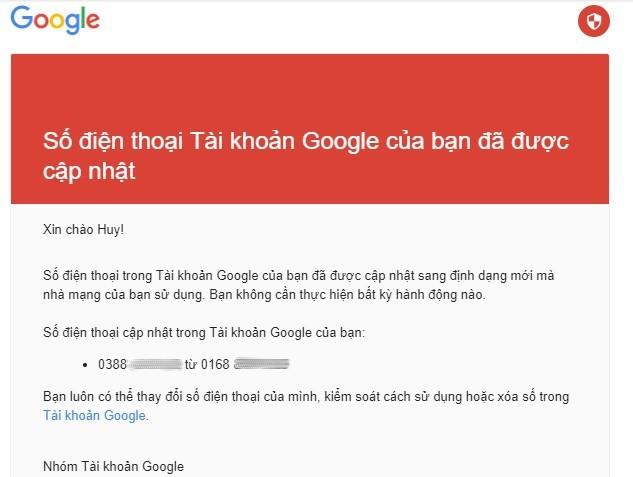 giai ma nhung email la ma google gui cho nguoi dung viet nam