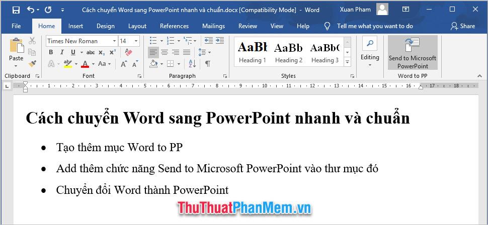 cach chuyen word sang powerpoint nhanh va chuan