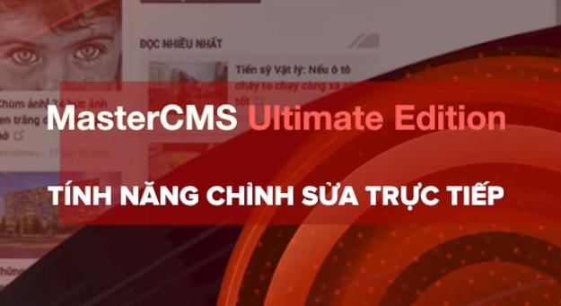 MasterCMS Ultimate Edition ra mắt tính năng Live Update